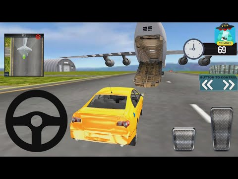Modern Car Transporter Plane - Android GamePlay FHD