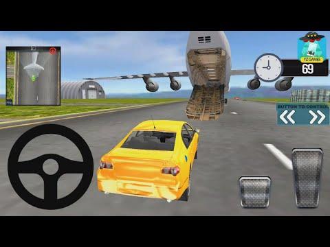 Modern Car Transporter Plane 2019 | #yz Car Simulator 3D Android GamePlay FHD