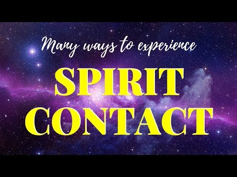 SPIRIT GUIDES:(How To Tell When Your Spirit Guides Are Contacting You)