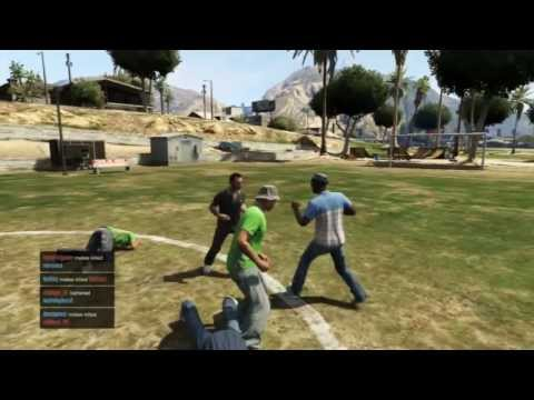 GTA ONLINE Football factory TDM ( Ganja Outlaws )