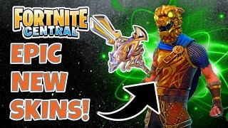 Fortnite! EPIC NEW SKINS ARE OUT! Battle Hound & Silver Fang!