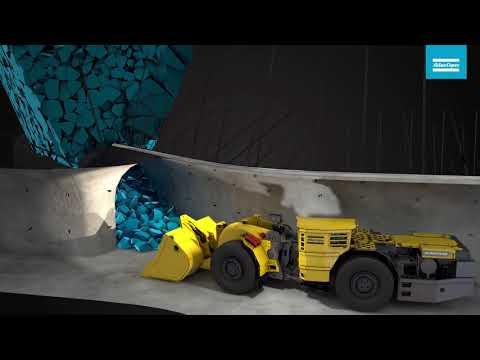 Atlas Copco- Block Caving Mining Method