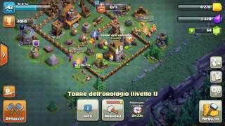 Clash of clans 5 minuti di poteziamento torre orologio