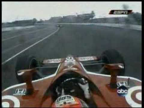 Phil Giebler into the wall 2007 Indy 500