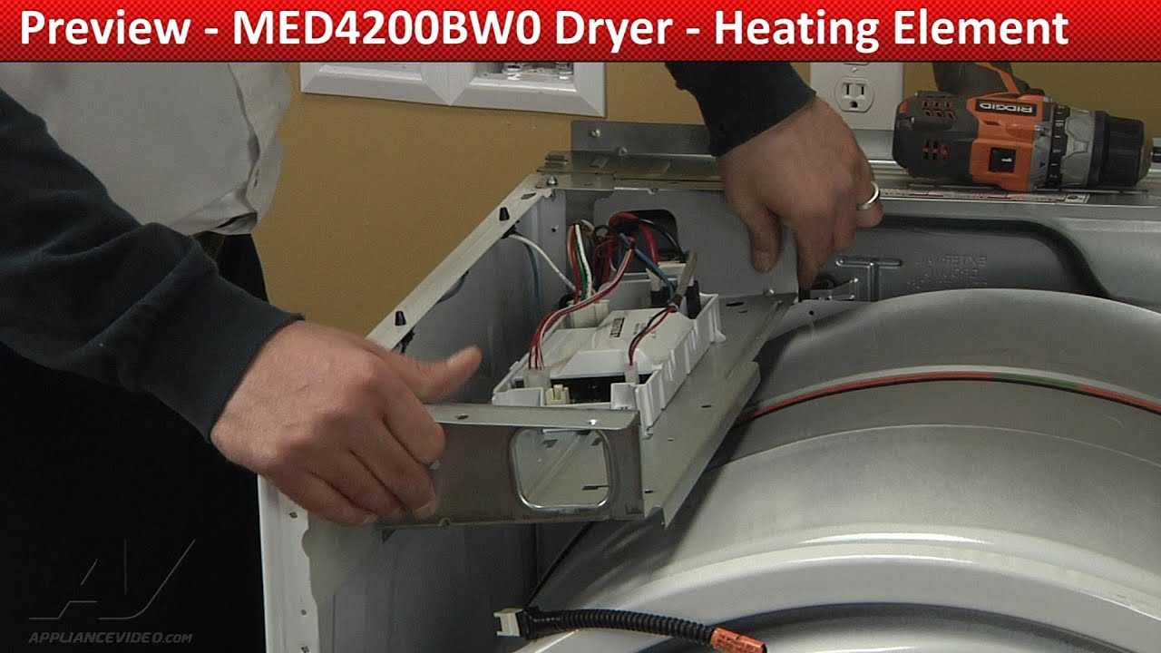 Heating Element replacement MED4200BW0 Maytag Dryer