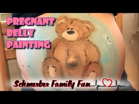 Pregnant Belly Painting!!!