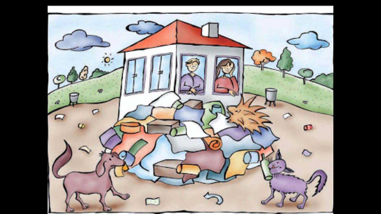 Los animalitos cuidan su casa wmv youtube for Casas para dibujar