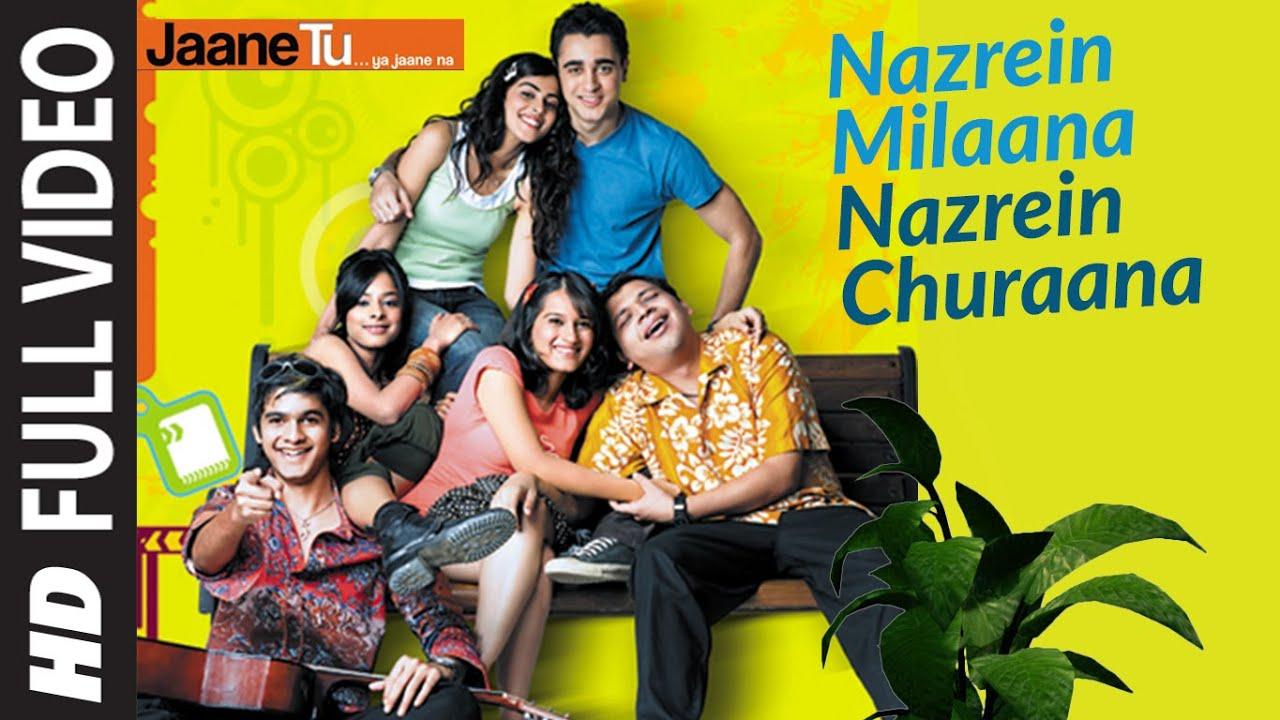 Download Full Video: Nazrein Milaana Nazrein Churaana | Jaane Tu Ya Jaane Na | Imran Khan , Genelia D'Souza
