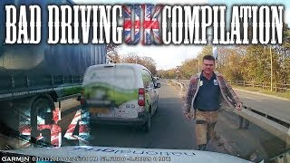 Bad Driving UK Compilation 154