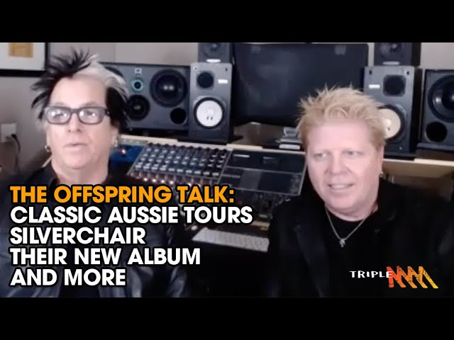 The Offspring look back at classic Australian tour, Silverchair, their new album and more | Triple M