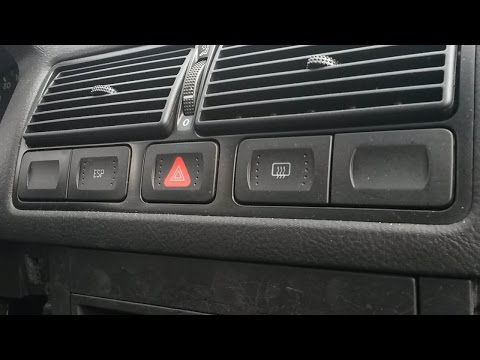 How To Remove Dash Buttons (hazard Light Switch, Defrost, ESP /ASR Switch) VW Golf Mk4 Bora