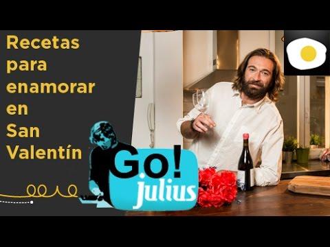 Recetas para enamorar en San Valentín | Recetas fáciles | Go! Julius