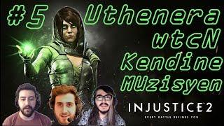 Injustice 2 Gecesi | Abonesine Vs | Uthenera Kendine Müzisyen Wtcn Özge Yenge İnjustice 2 Oynuyor #5