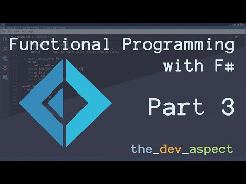 Functional Game Logic with State Pipelines - F# Part 3 [Episode 003]