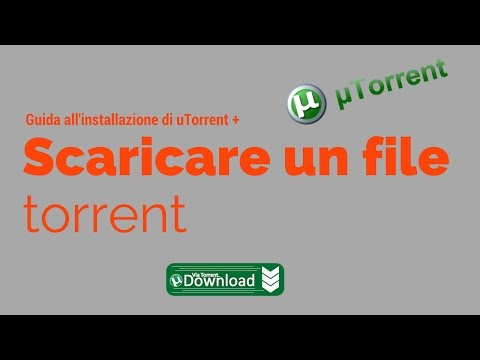 Come scaricare un file torrent
