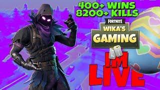 FORTNITE LIVE STREAM PS4 | 451 WINS | 9000+ KILLS | Road to 2k!