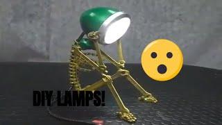 Creative DIY lamps. How do we make a lamp?