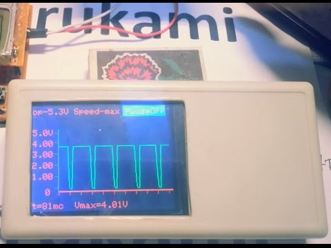 Осциллограф на Ардуино(Oscilloscope Arduino Or Atmega328)