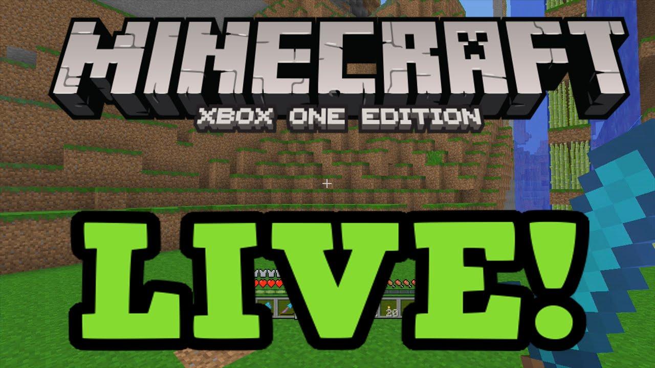 minecraft xbox one live gameplay  multiplayer  youtube