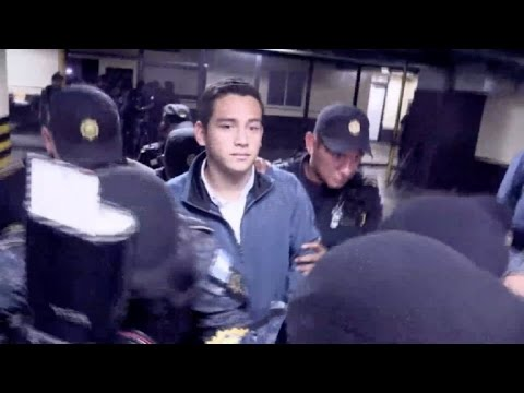 Detenidos hijo y hermano del presidente de Guatemala por fraude