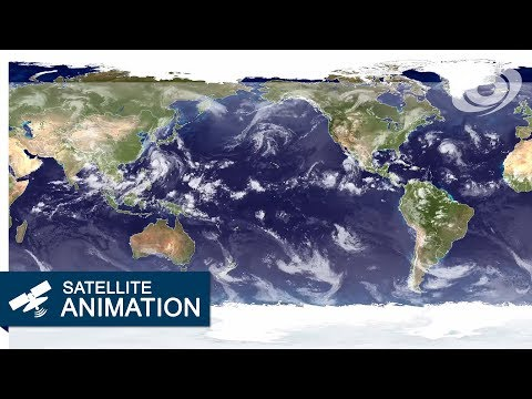 2012 Worldwide Satellite Animation