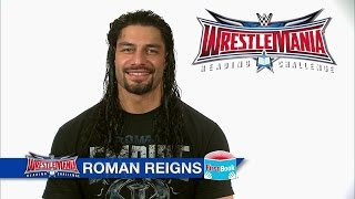 Roman Reigns encourages the WWE Universe to join the WrestleMania Reading Challenge