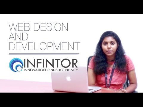 Web design and development - Infintor
