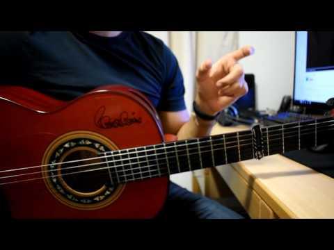 Nancy Ajram --- Inta Eyh ( Guitar Tutorial )
