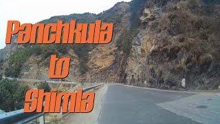 Panchkula to Shimla | Part 2 | Himalayan Expressway