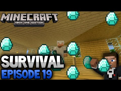 Minecraft Xbox One Lets Play Survival Episode [19] 'Mob Spawner''