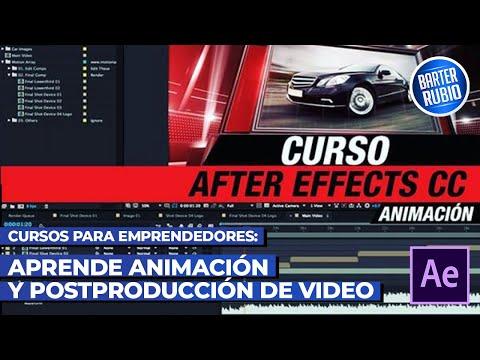 APRENDE ANIMACIÓN Y POST PRODUCCIÓN EN AFTER EFFECTS 🚀!!!