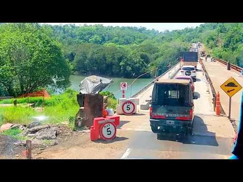Reforma da ponte sobre o Arroyo Ñacanguazú, logo adiante à Santo Pipo - CRUCERO DEL NORTE