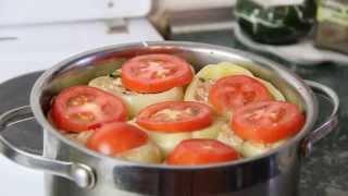 Как приготовить перец фаршированный мясом и рисом | Вкусный фаршированный перец - Рецепт