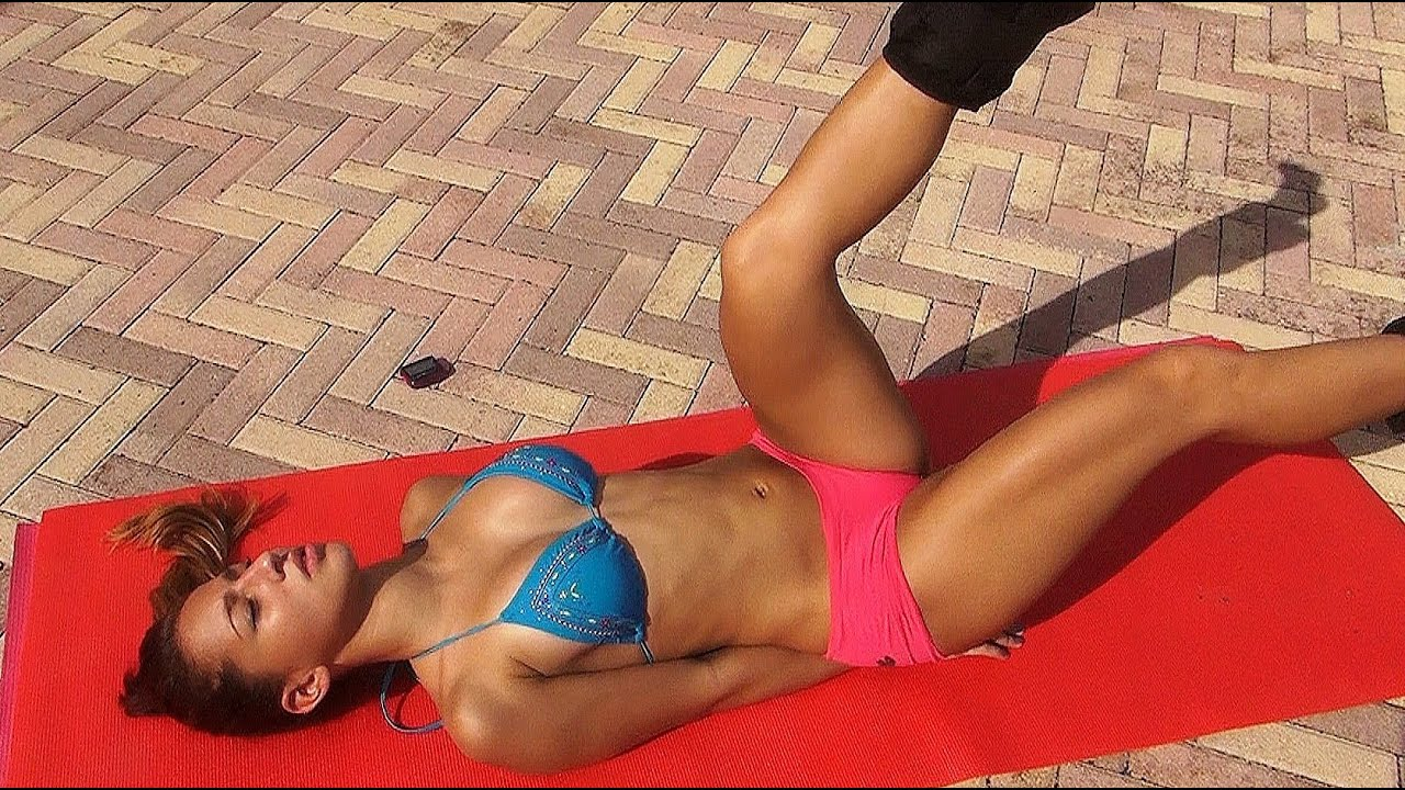 Fitness trainer kelly white works his enormous dick with her tight pussy - 3 3