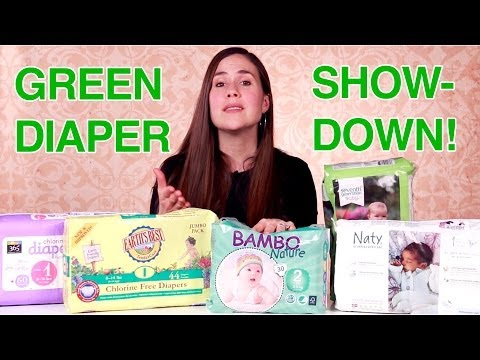 Green Diaper Showdown! (Best Natural Diaper Test)