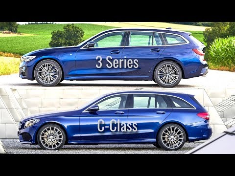 2020 BMW 3 Series Touring vs Mercedes C-Class Estate