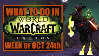 PATCH DAY  Whats New in WoW Week of October 24th 2017