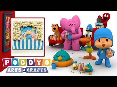 Pocoyo Arts & Crafts: Scrapbooking- Vamos ao cinema!