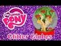 DIY Custom MLP Glitter Snow Globes My Little Pony Applejack