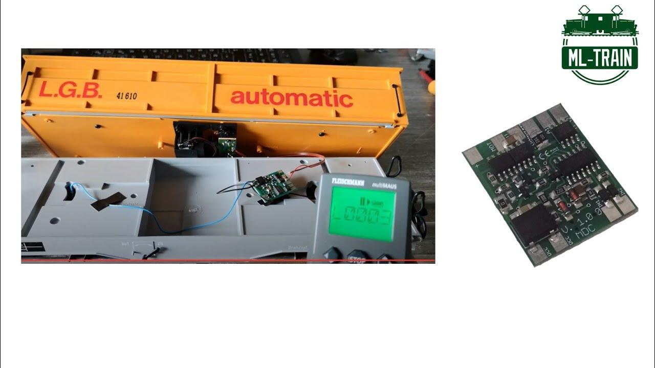 ML-Train 84003020 Digitale Motorsteuerung Modul Spur-G Drehscheiben Weichen NEU