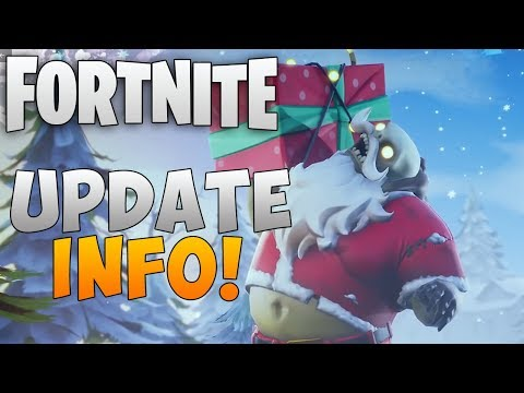 "Fortnite Christmas Update ""Fortnite Save the World Holiday Update"" Fortnite Holiday Event"