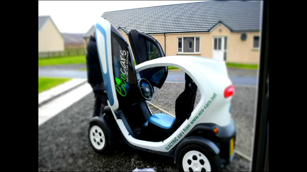 NO CAR Renault Twizy Window