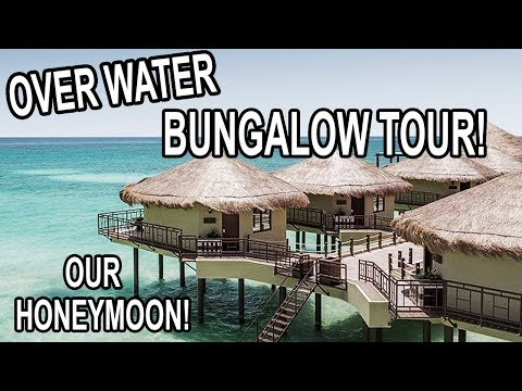 OUR HONEYMOON: OVER WATER BUNGALOW TOUR!