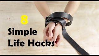 8 simple life hacks