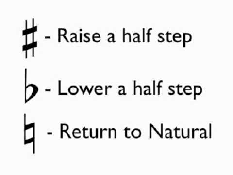 How to Read Music - Lesson 6 - Accidentals