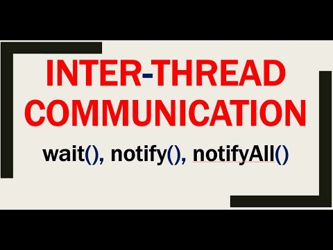 Inter Thread-Communication In Multithreading In Java