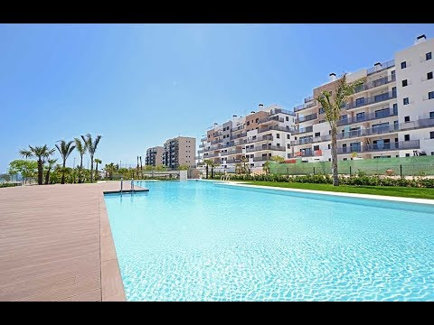 Beachside Apartments in Mil Palmeras Beach, Orihuela Costa