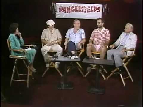 Rodney Dangerfield Chevy Chase Bill Murray Ted Knight Caddy Shack Interview 1980