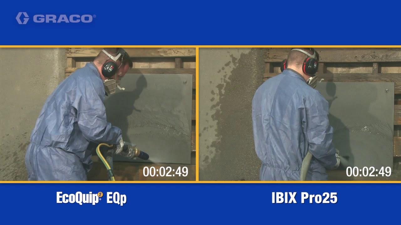 EcoQuip EQp vs IBIX Pro25