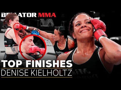Top 5 Finishes: Denise Kielholtz   Bellator MMA